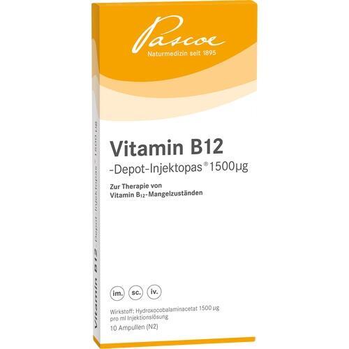 VITAMIN B12 Depot Inj. 1500 μg Injektionslösung