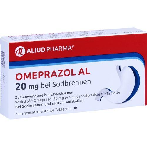 OMEPRAZOL AL 20 mg b.Sodbr.magensaftres.Tabletten