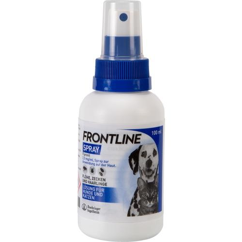 frontline spray f hunde katzen 100 ml f r den hund tierarzneimittel produkte fliegende. Black Bedroom Furniture Sets. Home Design Ideas
