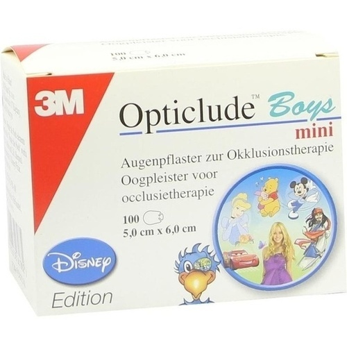 OPTICLUDE 3M Disney boys mini 2537MDPB-100