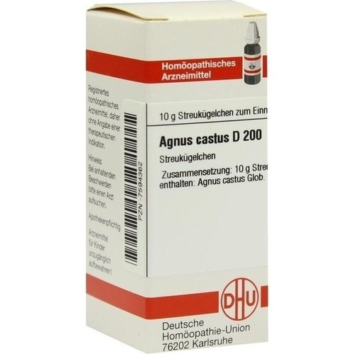 AGNUS CASTUS D 200 Globuli