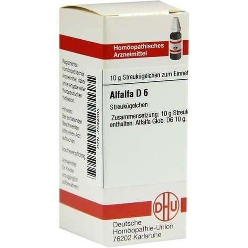 ALFALFA D 6 Globuli