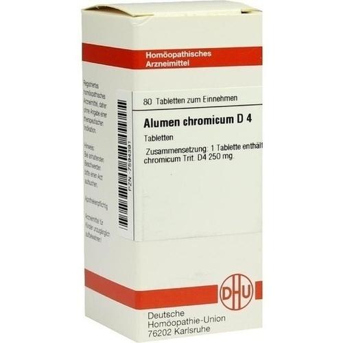 ALUMEN CHROMICUM D 4 Tabletten