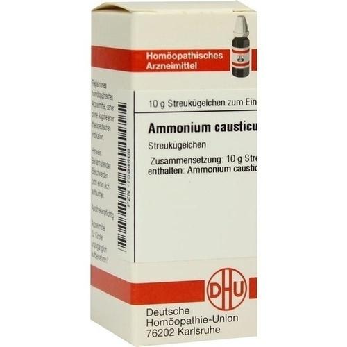 AMMONIUM CAUSTICUM D 12 Globuli