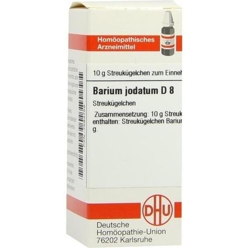 BARIUM JODATUM D 8 Globuli