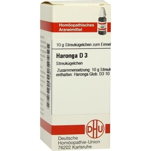 HARONGA D 3 Globuli