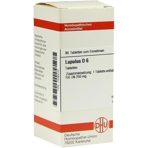 LUPULUS D 6 Tabletten