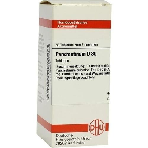 PANCREATINUM suis D 30 Tabletten