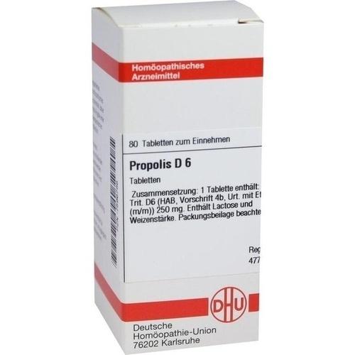 PROPOLIS D 6 Tabletten