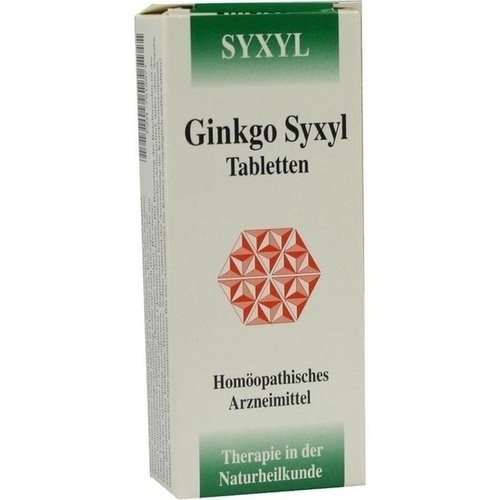 GINKGO SYXYL Tabletten