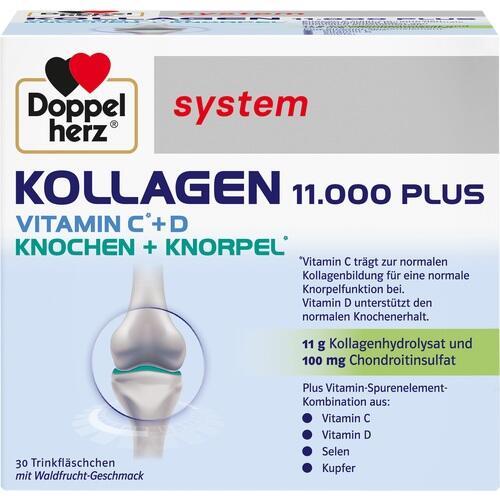 DOPPELHERZ Kollagen 11.000 Plus system Ampullen