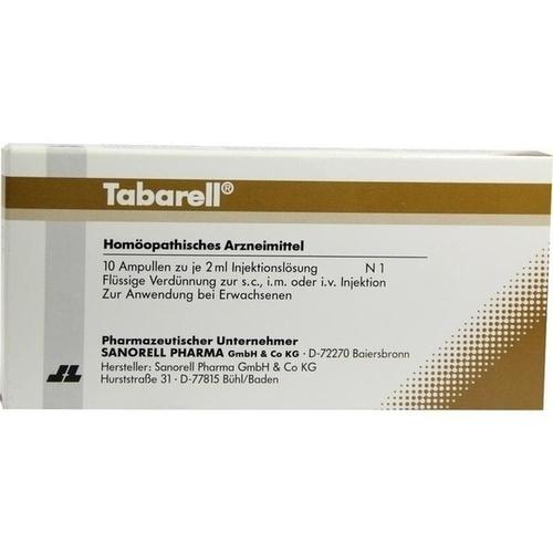 TABARELL Ampullen