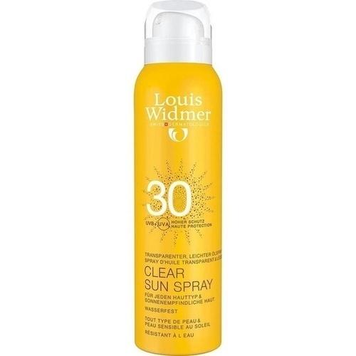 WIDMER Clear Sun Spray 30 leicht parfümiert
