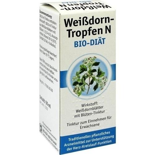 WEISSDORN TROPFEN N Bio-Diät 50 ml