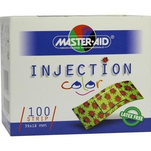 INJECTION strip color 18x39 mm Kinderpfl.Käfer