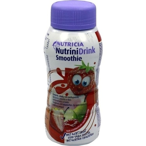 Nutricia GmbH NUTRINIDRINK Smoothie rote Früchte 200 ml 577933