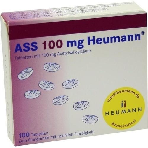 ass 100 mg heumann tabletten 100 st. Black Bedroom Furniture Sets. Home Design Ideas