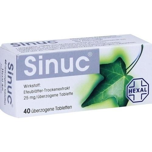 SINUC überzogene Tabletten 40 St