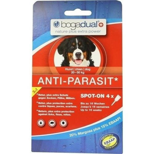 bogadual anti parasit spot on hund gro 4x2 5 ml parasitenschutz hund tiere ayvita die. Black Bedroom Furniture Sets. Home Design Ideas