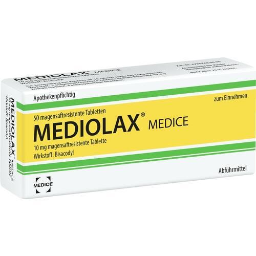 mediolax medice magensaftresistente tabletten 50 st verstopfung l sen verdauung magen. Black Bedroom Furniture Sets. Home Design Ideas