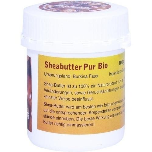 sheabutter bio pur unraffiniert 100 g pzn 08435482. Black Bedroom Furniture Sets. Home Design Ideas