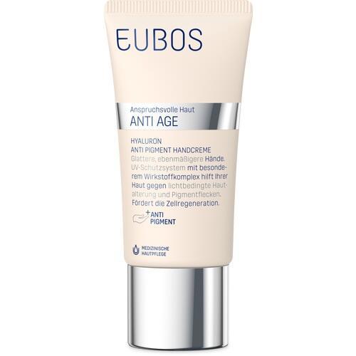 EUBOS HYALURON Anti Pigment Handcreme LSF 15 GRATISPROBE