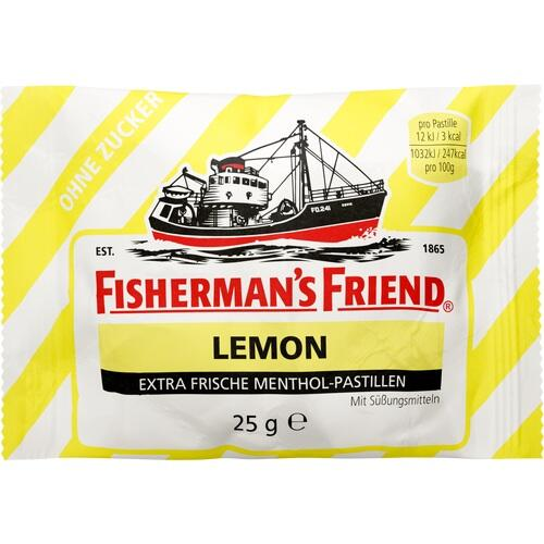 FISHERMANS FRIEND Lemon ohne Zucker Pastillen