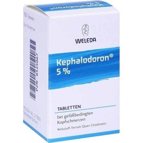 kephalodoron 5 tabletten 100 st weleda hom opathie. Black Bedroom Furniture Sets. Home Design Ideas