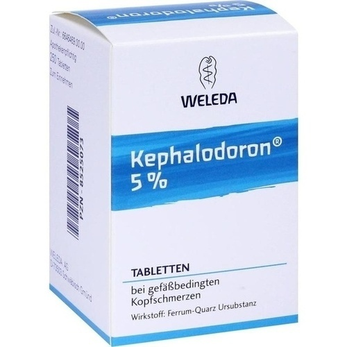 kephalodoron 5 tabletten 250 st weleda hom opathie. Black Bedroom Furniture Sets. Home Design Ideas