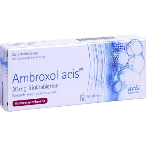 AMBROXOL acis 30 mg Trinktabletten