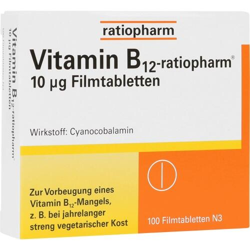 VITAMIN B12 ratiopharm 10 μg Filmtabletten