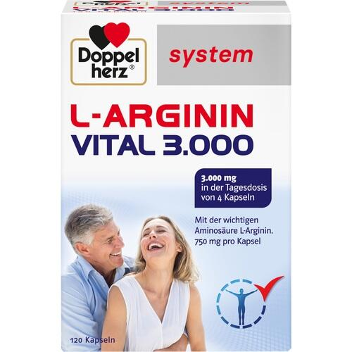 DOPPELHERZ L-Arginin Vital 3.000 system Kapseln