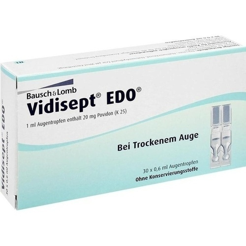 VIDISEPT EDO Ein Dosis Ophtiolen