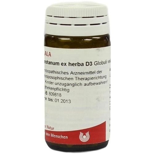 ABROTANUM EX Herba D 3 Globuli