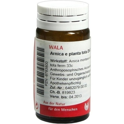 WALA ARNICA E Planta tota D 6 Globuli