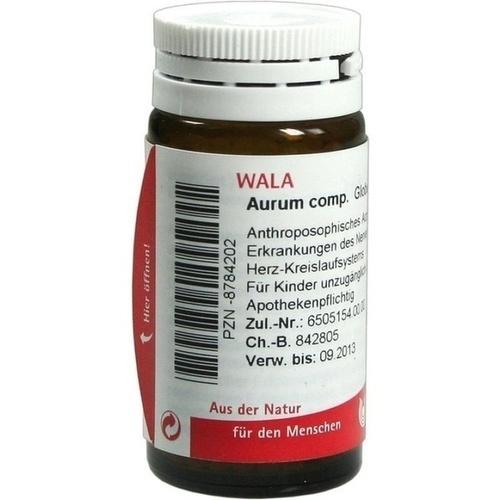 WALA AURUM COMP. Globuli