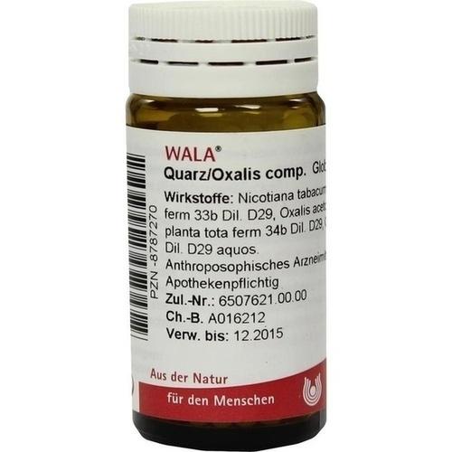 WALA QUARZ/ OXALIS COMP. Globuli
