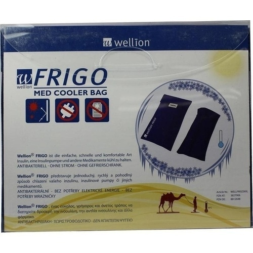 Med Trust GmbH WELLION FRIGO XXL med cooler bag 1 St. WELLFRIGOXXL