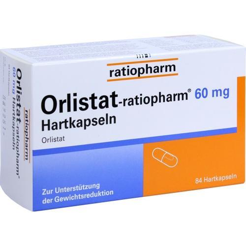 ORLISTAT ratiopharm 60 mg Hartkapseln