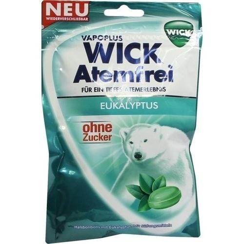 WICK Atemfrei Bonbons o.Zucker