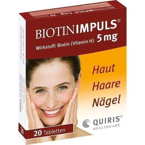 BIOTIN IMPULS 5 mg Tabletten