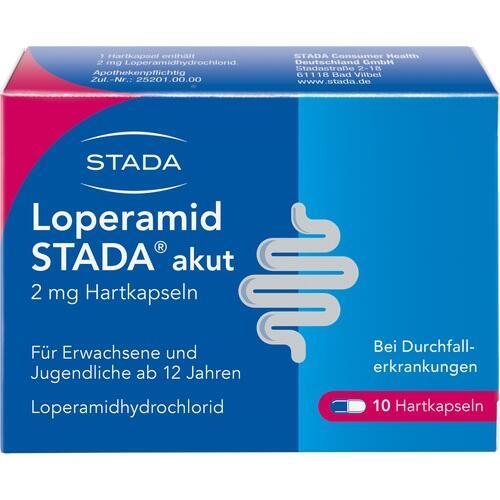 LOPERAMID STADA akut 2 mg Hartkapseln