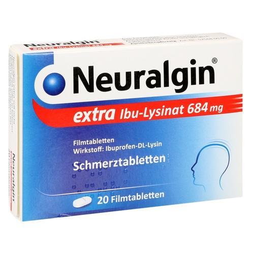 NEURALGIN extra Ibu-Lysinat Filmtabletten