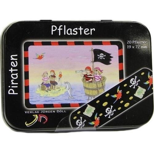 KINDERPFLASTER Piraten Dose