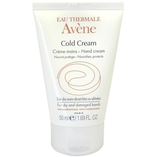 avene cold cream handcreme ohne parabene 50 ml avene kosmetik. Black Bedroom Furniture Sets. Home Design Ideas