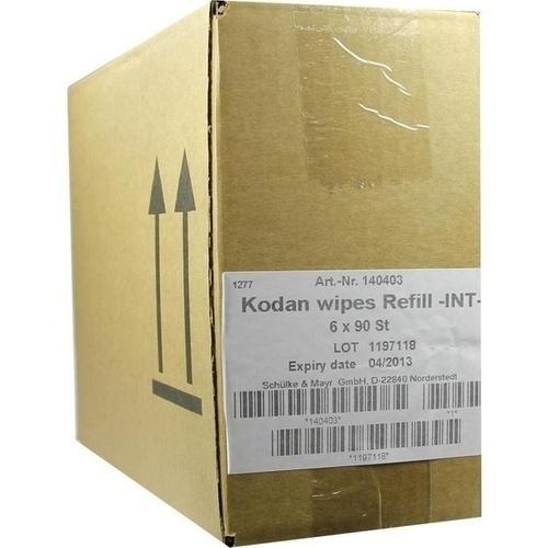 KODAN wipes Nachfüllpack 6X90 St