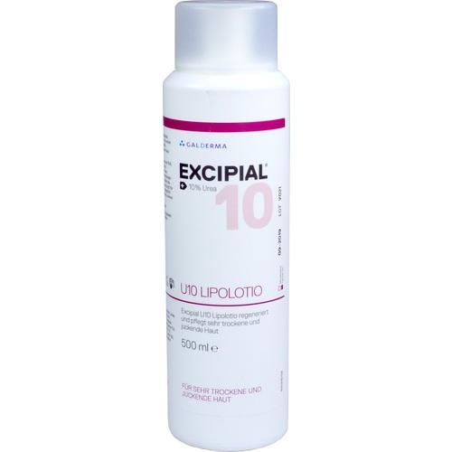 EXCIPIAL U 10 Lipolotio 500 ml