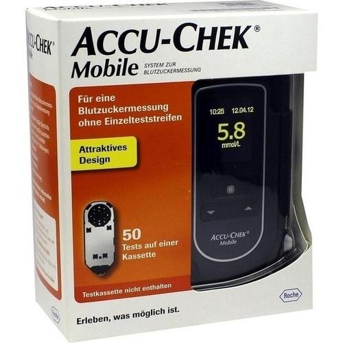 ACCU CHEK Mobile Set mmol/l III