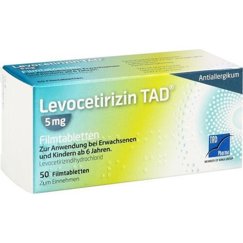 LEVOCETIRIZIN TAD 5 mg Filmtabletten