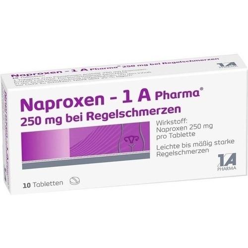 NAPROXEN 1A Pharma 250 mg b.Regelschmerzen Tabl.